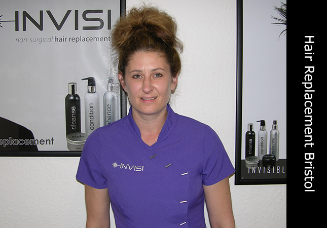 Hair replacement hair specialist located in Bristol, UK in affiliation with the Inivisi clinic