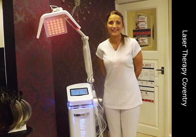 Senior hair loss consultant at Invisi Hair clinic Coventry UK