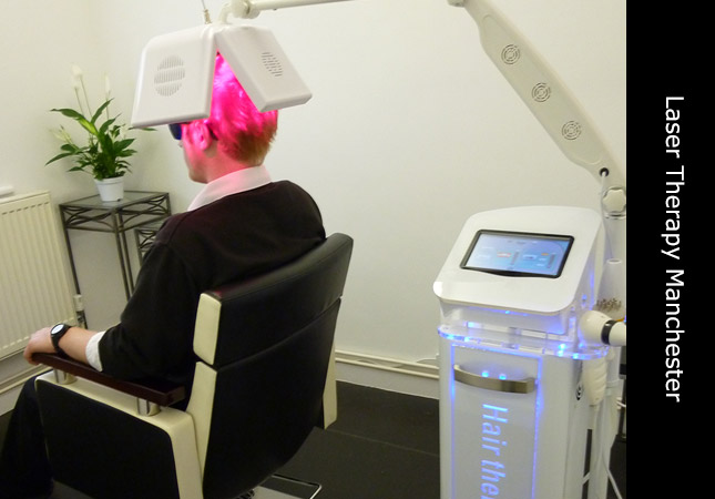 Invisi Hair advanced pulse laser hair restoration machine based at Manchester UK