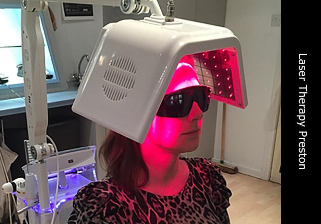Hair loss professional Sarah at Invisi laser hair restoration clinic in Preston UK