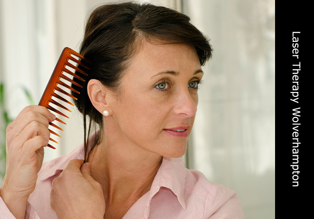Hair and Scalp analysis for women at the Wolverhampton hair loss clinic UK