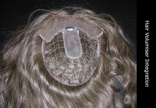 Invisi hair integration construction and design European human hair