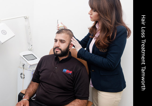 Laser hair re-growth clinic for hair loss treatment in Tamworth Staffordshire, Invisi Hair.