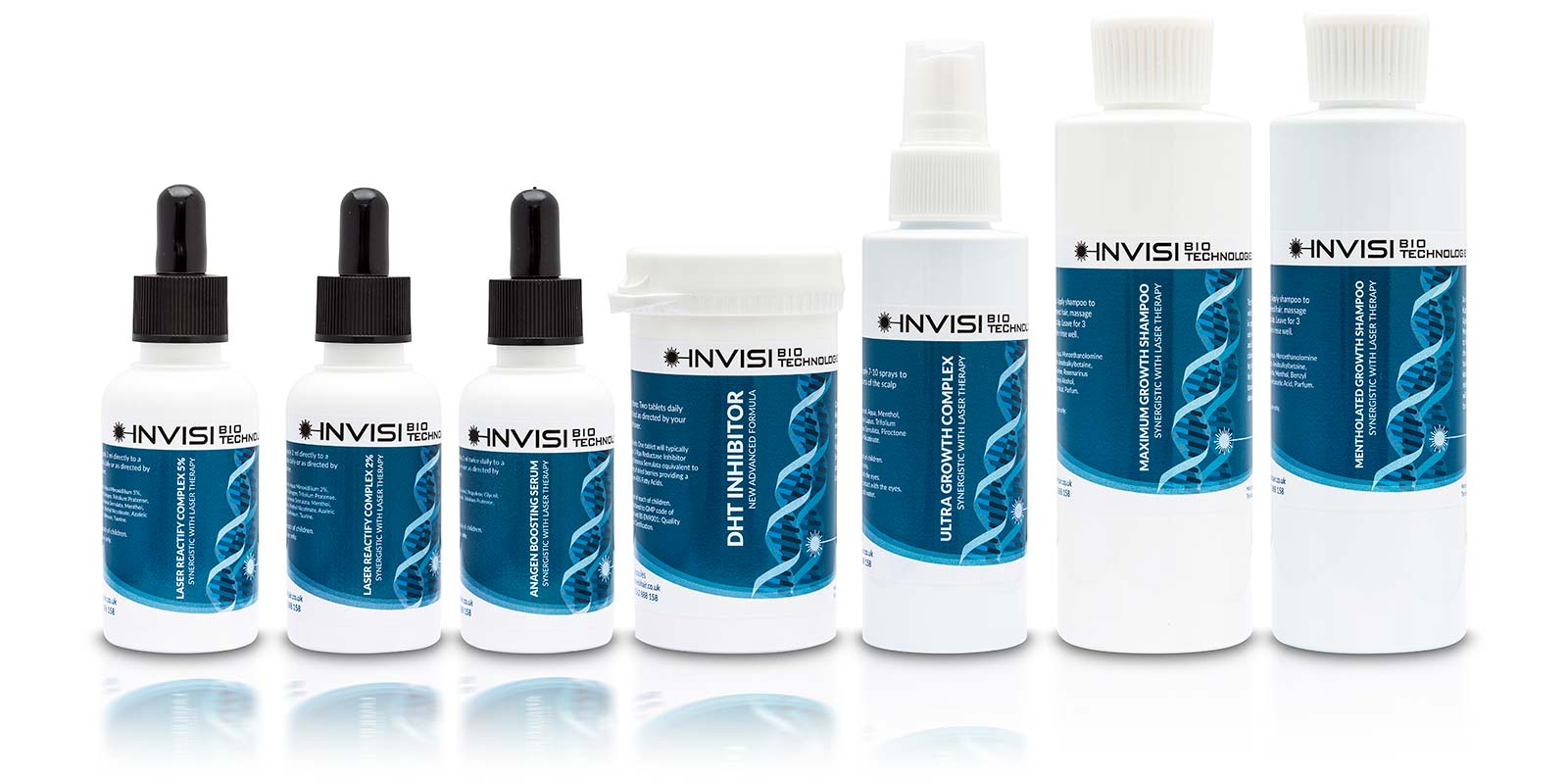 Invisi Hair Regrowth Products