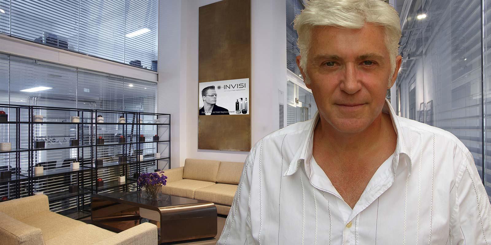 Nicky Clarke founder of Invisi